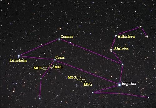 Resultado de imagen de constelación leo